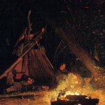 How to build a camp fire from scratch