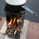 How to Build a Fire in a Rocket Stove