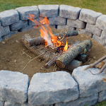 Instructions On How to Build a Fire Pit