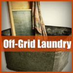 Off-Grid Laundry