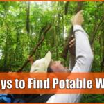 4 ways to Find Potable Water